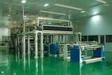 Bopet biaxial stretching film production line